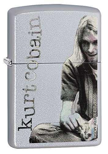 Zippo Kurt Cobain Street Chrome 29052 Lighter