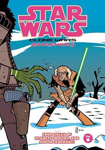 Star Wars: Clone Wars Adventures, Vol. 6 by Haden Blackman, Thomas Andrews, Fillbach Brothers, Stewart M (2006) Paperback