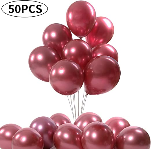 """10/""""12/"""" High Quality Pearlised Latex Party Birthday Wedding Balloons Extra Strong"""