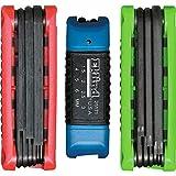 Eklind 25024 Metric, Standard & Torx 24pc Ergo-Fold Key Set 3-Tool Combo