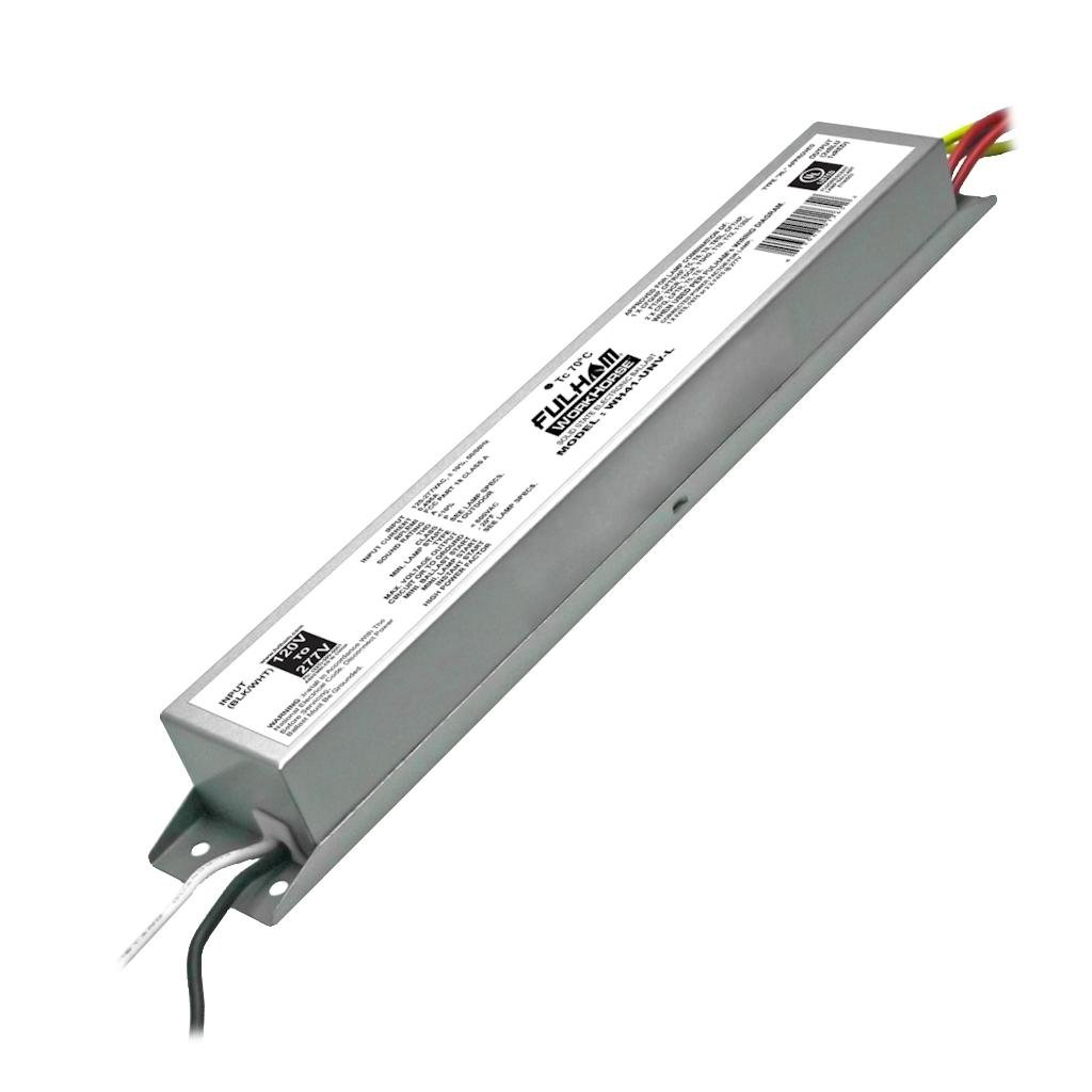 Fulham Lighting WH41-UNV-L Workhorse 41-Universal Voltage-Versatile Fluorescent Ballast-Instant Start-Linear Model with Side Leads by Fulham Lighting (Image #1)