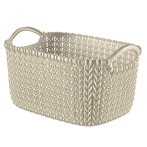 Curver 03703-X64-00 Knit Basket Rectangular