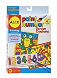 Paint By Number 5 Inch x 7 Inch Kit 4/Pkg-Garden Creatures