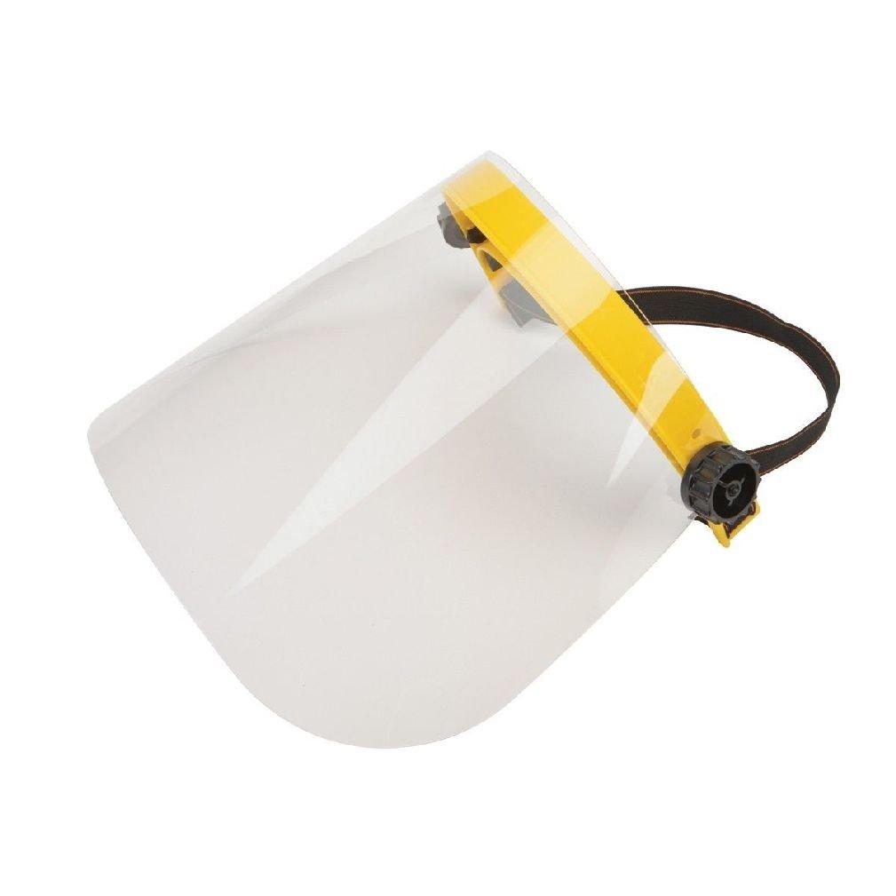 New Safety Flip On Face Shield Visor Mask For Sanding Grinding Polishing Etc