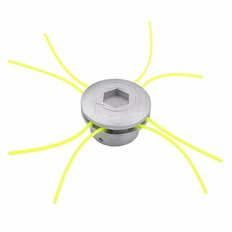 Amazon.com: Cortadora de césped cabeza de aluminio con 4 ...