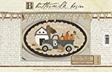 Vintage Truck Thru the Year - September - by Buttermilk Basin - Wool Applique Pattern - 12.5