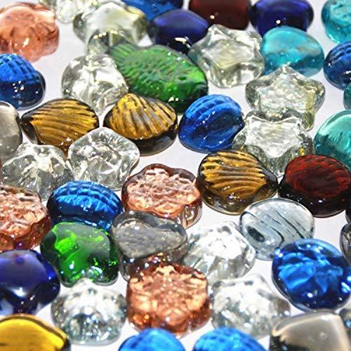 Activity File - Dejian Colorful Glass Stone Aquarium Decoration Crystal Gem Vase Filler Arts and Crafts Wedding Decoration Party Activities Aquarium Decoration Aquarium Stone