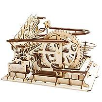 ROKR コースター 水車 コグ 歯車 立体パズル 機械模型マニア ギア 手回し 木製 クラフト プレゼント