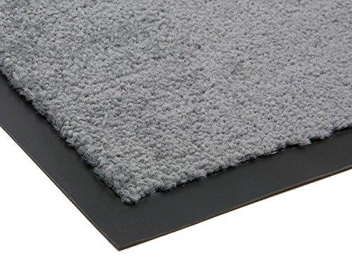 Schmutzfangmatte CANDY - Grau - 1,20m x 1,80m   5 Farben   5 Größen   100% Polypropylen   2.710g m²   Sauberlaufmatte   Türmatte   Fußmatte   Schmutzfangläufer   Sauberlaufteppich