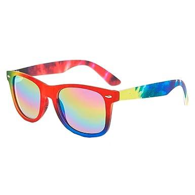 21e0040d07 Claire s Girl s Rainbow Tie-Dye Faux Sunglasses Rainbow.  Claire s ...