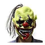 SZG Scary Clown Mask for Adults for Halloween Party