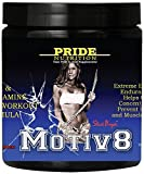 Pre Workout Supplement for Women and Men - Motiv8 250g - Bcca and Glutamine for Recovery & Endurance - Staci Boyer Motiv8 Fruit Punch Preworkout & Intra Workout Formula - Best Amino Acid Energy Mix