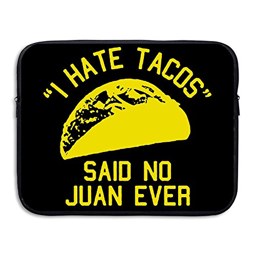 Costumes For Dogs Sydney (BANA Custom I HATE TACOS Said No Juan Ever Water-resistant Tablet Protector Bag Case 13 Inch)