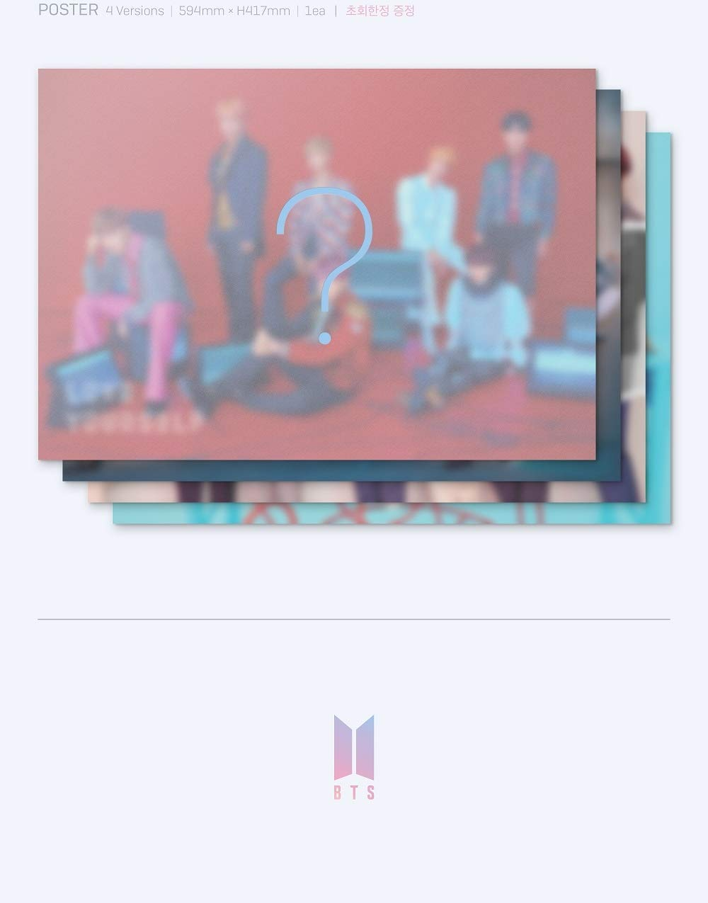 BTS - [Love Yourself 結 'Answer'] 4th Album F VER 2CD+Poster+116p PhotoBook+20p Mini Book+1p PhotoCard+1p Sticker+Pre-Order+Extra PhotoCard Set K-POP Sealed by BTS (Image #1)
