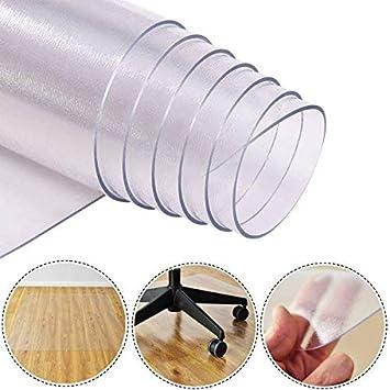 Costway Bodenschutzmatte Bodenschutz Buro Stuhl Unterlage Boden