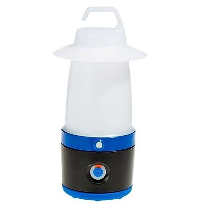 DECATHLON QUECHUA BL 200 CAMPING linterna recargable azul