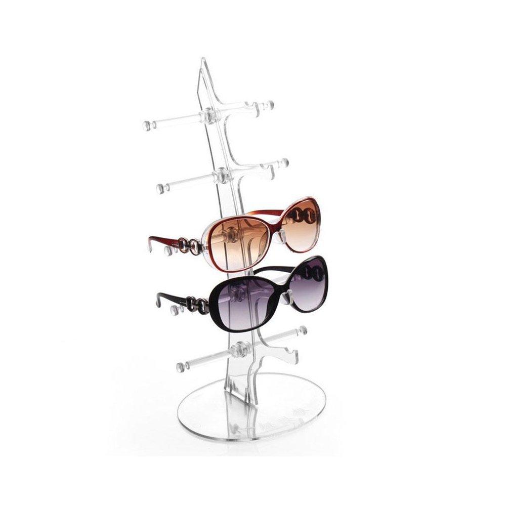 MSmask Eyeglasses Sunglasses Rack Holder Glasses Display Stand Eyeglasses Sunglasses Rack Holder