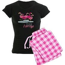 CafePress - Team Flamingo - Womens Novelty Cotton Pajama Set, Comfortable PJ Sleepwear