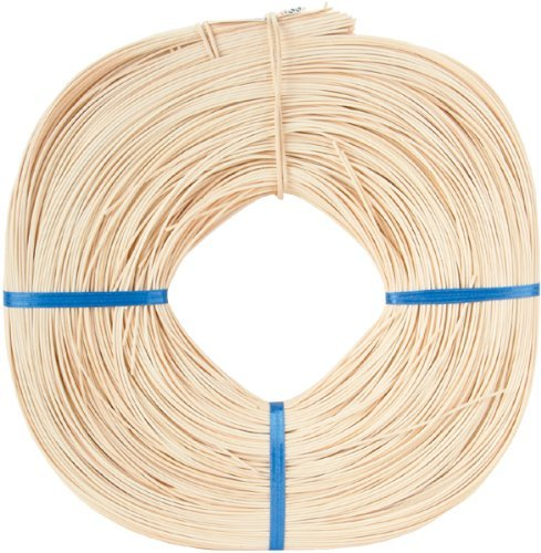 Round Reed #2 1.75mm 1lb Coil-Approximately 1, 100' 100' Commonwealth Basket 4336840502