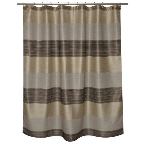 Famous Home Fashions Alys 100-Percent Polyester Shower Curtain, ()