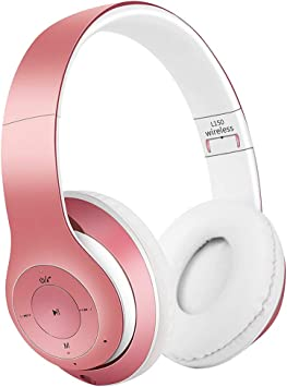 Satohom Auriculares Bluetooth de Diadema Cascos Bluetooth Inalámbrico Auriculares Plegable Cascos Over Ear con Micrófono Audio Cable Cancelación de Ruido Auriculares para TV PC Tablet iPhone iPad: Amazon.es: Electrónica