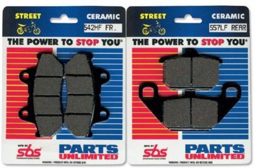 (SBS HF Ceramic Brake Pads 551HF)