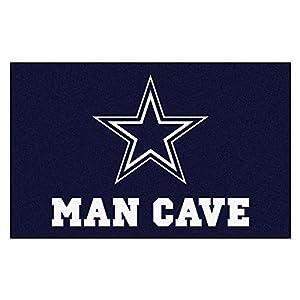 FANMATS 14294 NFL Dallas Cowboys Nylon Universal Man Cave UltiMat Rug, 60″96″