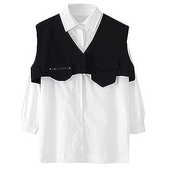 CasualBlusa Casual para Mujer Camisa Blanca Camisa Blanca para ...
