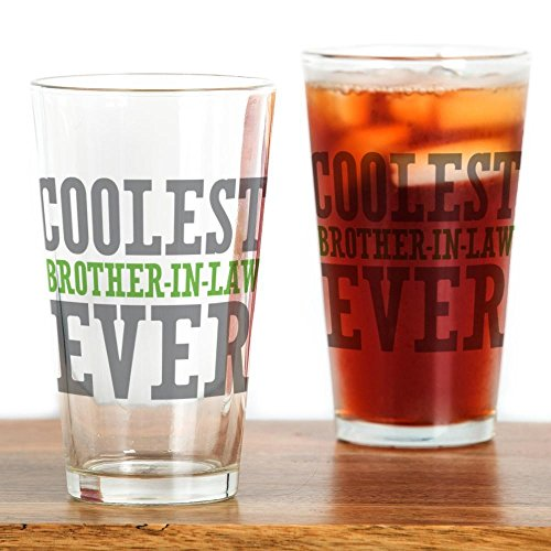 CafePress Coolest Brother Law Drinking