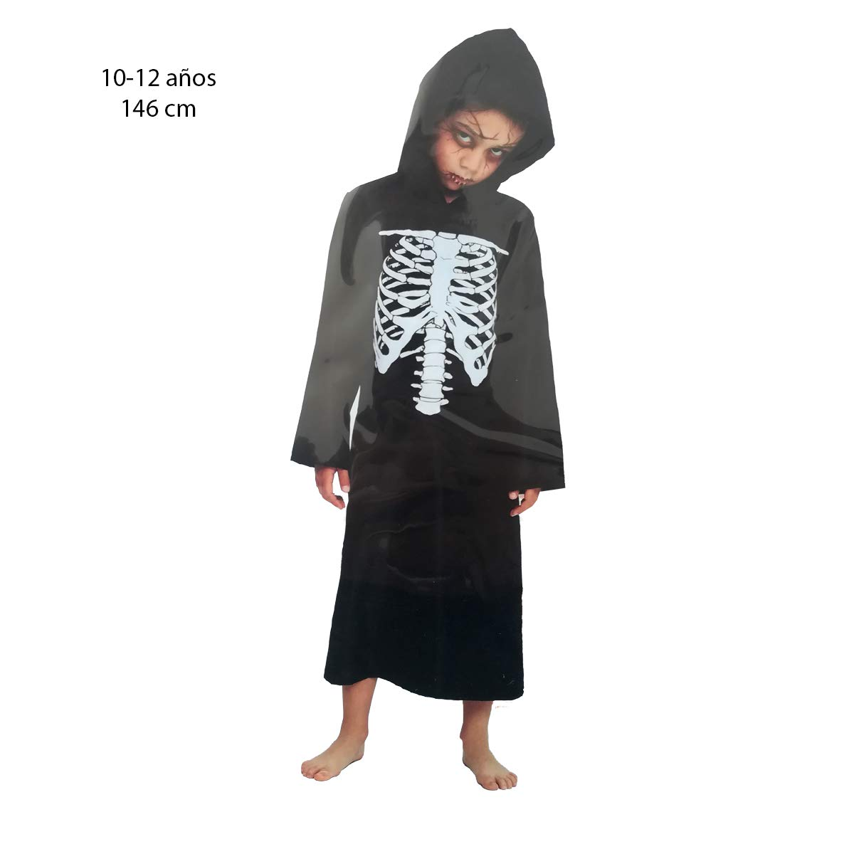Cisne 2013, S.L. Disfraz para Halloween Infantil de Esqueleto ...