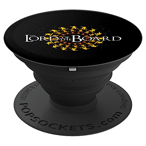 The Lord of the Board Snowboard Skiing Funny Gift - PopSockets Grip and Stand for Phones and ()
