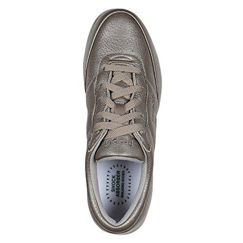 Waschbarer Walker Sneaker der Propet-Frauen Zinn