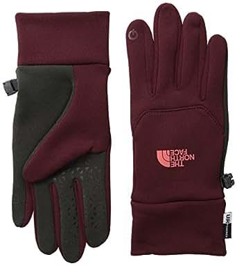 The North Face Women's Etip Gloves Deep Garnet Red Gloves