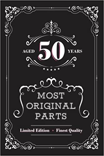 Amazon Aged 50 Years Most Original Parts Journal For Women