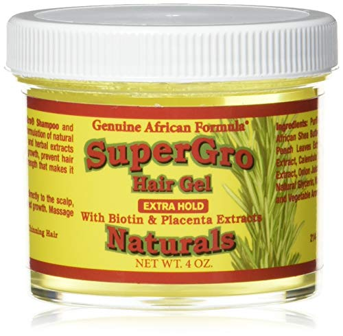 Biotin Conditioning Gel - African Formulas, Hair Gel Conditioning Super Grow, 4 Ounce