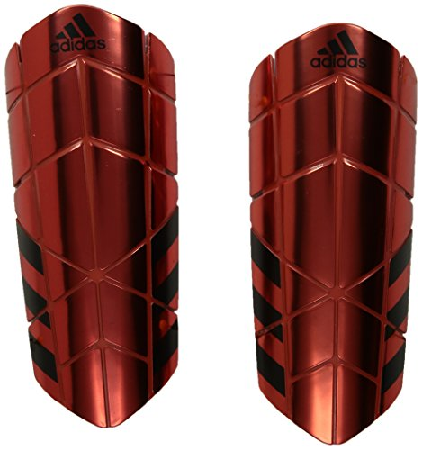 adidas Ghost Pro Shin Guards, Bright Red, - Shin Soccer Guard