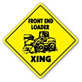 FRONT END LOADER xing Sign xing gift novelty tractor dozer fork lift