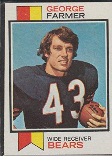 1973 Topps George Farmer Bears Football Card #197