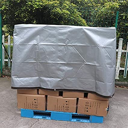10 X 15 FT Brown//Silver 3-Pack 10MIL Thick Commercial Multi Purpose Waterproof Poly Tarp Cover