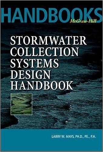 Stormwater Collection Systems Design Handbook: v. 1 (McGraw-Hill Handbooks)