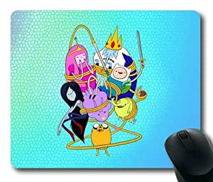 Adventure Time:Finn and Jake Rectangle Mouse Pad by eeMuse by ruishername