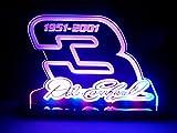 Dale Earnhardt Sr 3 Signature Nascar LED Lamp Night Light Signs