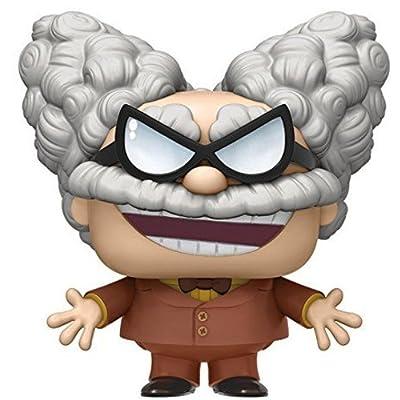 Funko POP Movies Captain Underpants Professor Poopypants Action Figure: Funko Pop! Movies:: Toys & Games