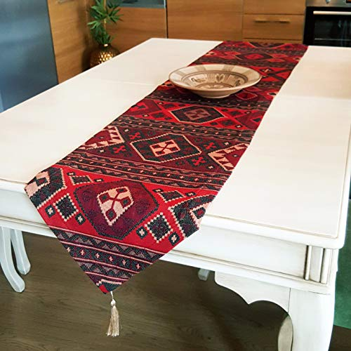 Aztec Series - Bohemian Home Table Runner, (72'' x 14'' inches), ()