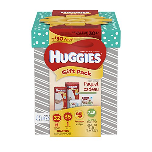 HUGGIES Little Snugglers Gift Pack Diapers