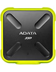 ADATA 256 GB SD700 External Solid State Drive Yellow