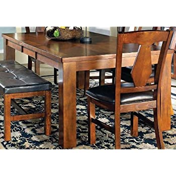 This Item Steve Silver Company Lakewood Table With 18 Leaf 42 X 60 78 30 Medium Oak