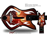 Trifold Decal Style Skin - fits Warriors Of Rock Guitar Hero Guitar (GUITAR NOT INCLUDED)