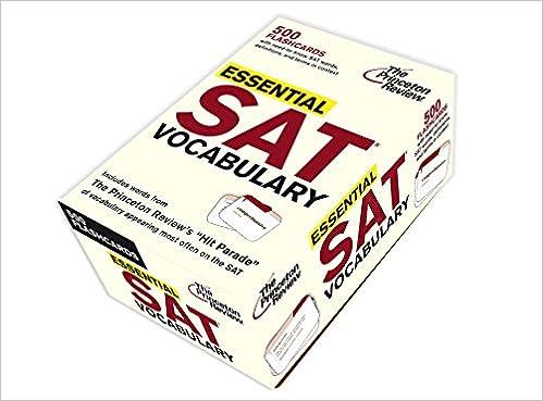 Sat Vocabulary List Pdf