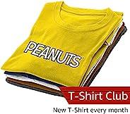 Peanuts Design Vault Club T-Shirt Subscription – Men – Large